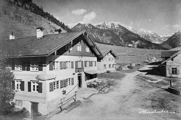 """Gasthof """"Grüner Hut"""" in Hinterstein"""