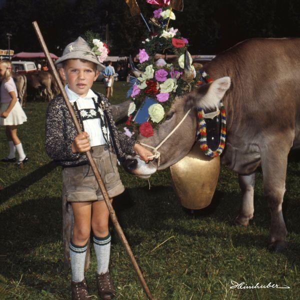Junge am Viehscheid