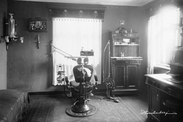 Zahnarztpraxis 1910